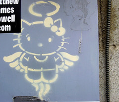 Hello Heaven Kitty (See El Photo) Tags: street 15fav streetart art angel 510fav cat dead graffiti amazing wings hellokitty great kitty halo 10f explore bow greatshot stencilart kittyangel 600views 1f faved greatphoto powerbox 1015fav 5f 555v5f 111v1f stenicl 666v6f 11f 10faves powerboxart seeelphoto explore314 1015faved chrislaskaris