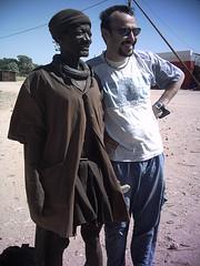 Mario with Himba Man (jane jubel) Tags: namibia himba