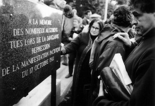 commemoration 17 octobre 1961nanterre