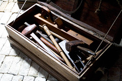 Tool box (HelenPalsson) Tags: boat tools replica redcliffe duyfken toolbox 20060723