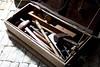Tool box (HelenPalsson) Tags: boat tools replica redcliffe duyfken toolbox 20060723