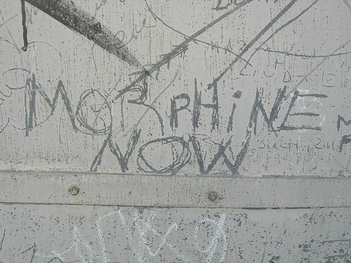Morphine now!
