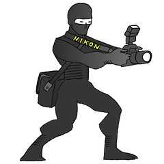 nikon ninja - by striatic