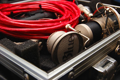 condenser (cold brains unmoved) Tags: case microphone condenser