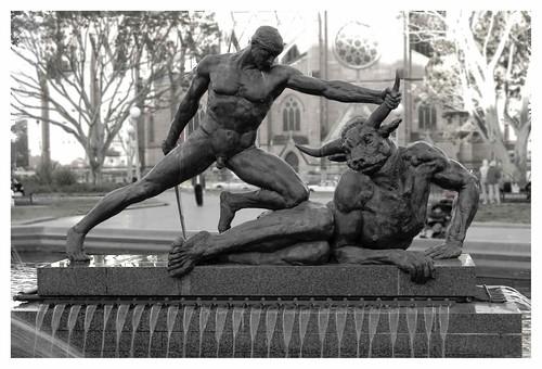 Theseus Slaying The Minotaur