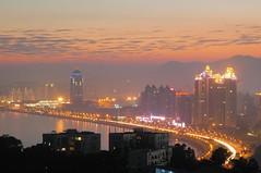 Zhuhai - Gongbei at dusk