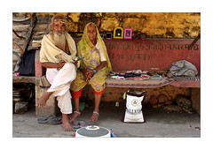 Brahman can be poor too (Elishams) Tags: india 3 love indian traditional culture uttaranchal indianarchive hinduism pilgrimage streetseller sus pilgrims assignment3 rishikesh travelstory streetvendors northindia  indedunord elderness 50millionmissing theindiatree sharedurbanspace