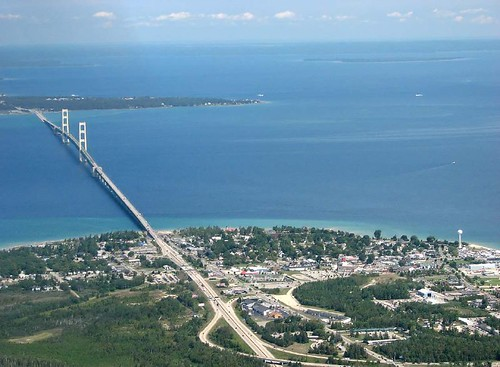 Mackinac Bridge by rdmegr