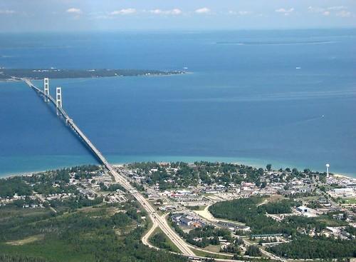 Mackinac Bridge by rdmegr