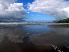 Inch Beach (code poet) Tags: ocean blue ireland sky white reflection beach topf25 water topv111 topv2222 clouds landscape sand topf50 topv555 topv333 topf75 topv1111 topv999 dingle 100v10f kerry atlantic topv5555 500v50f topv777 topv9999 topv11111 topv3333 topv4444 topv6666 topv7777 inchbeach