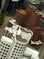 Gehry's Buildings (Clod79) Tags: building architecture germany deutschland gehry nrw dusseldorf frankgehry architettura edifici medienhafen clod79 dusseldorf