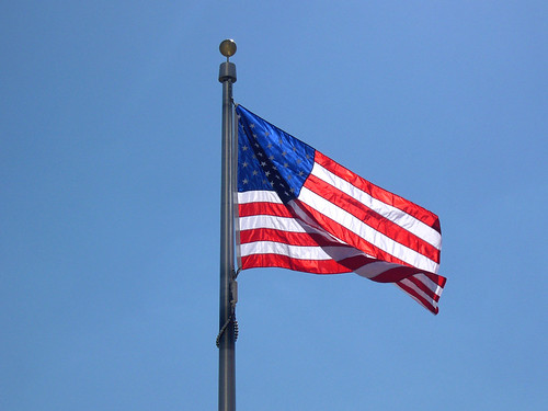 Flag at the Washington Monument