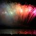 Rainbow Fireworks Vancouver 2006