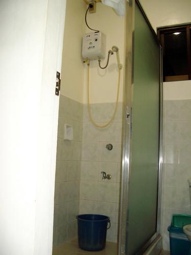 Typical Philippine shower