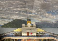 Nordfjord, Costa Atlantica  (HDR) (R.Duran) Tags: norway boat norge nikon europa europe barco ship d70s cruiseship noruega fjord fiord hdr fiordo olden sogn fjordane nordfjord sognogfjordane costaatlantica costacruceros sigma18200mm 1xp tthdr ltytr1