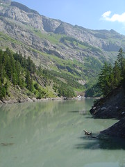Derborence '06 (theta72) Tags: mountain lake montagne lago schweiz switzerland suisse svizzera wallis valais vallese derborance