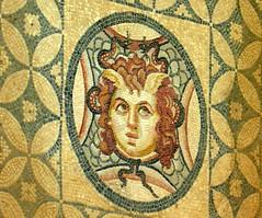 Mosaic, Ephesus - by dachalan