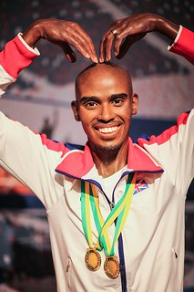 Mo Farah Wax Figure