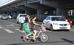 Beijing (nicksarebi) Tags: china cyclist beijing traffice