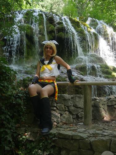 Shooting Rin kagamine - Vocaloid - Parc de Saint Pons -Gemenos- 2015-08-05- P1170725