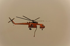 Closeup of 743 Flying (benagain_photos) Tags: washington butte wa fires chelan wildfires reachfire chelancomplex
