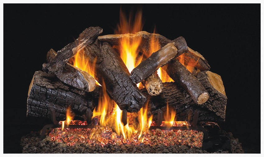 Peterson Weekender's Woodstack gas log set