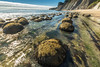 (Marc Crumpler (Ilikethenight)) Tags: ocean california water fog clouds canon landscape coast rocks afternoon pacific shoreline boulders pacificocean pacificcoast 6d mendocinocoast bowlingballbeach schoonergulch canon6d 1635mmf4l