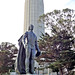 California-05832 - Coit Tower & Christopher Columbus