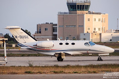 Private --- Cessna 510 Citation Mustang --- M-OUSE (Drinu C) Tags: plane private mouse aircraft aviation sony mustang 510 dsc cessna citation mla bizjet privatejet lmml hx100v adrianciliaphotography