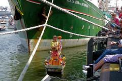 The musicboat (sietzeklapwijk) Tags: amsterdam sail alexander woodenshoe henk reinier draaiorgel klomp barrelorgan