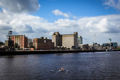 Odlums (ColinParte) Tags: ocean ireland sea urban industry docks harbour cork canoe shipping