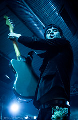 Johnny Marr @ Engine Rooms, Southampton (_modernway_) Tags: lighting uk musician music lights concert purple emotion stage gig performance hampshire southampton guitarist johnnymarr enginerooms