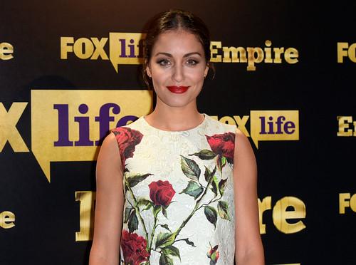 Hiba Abouk en un acto de Fox Life