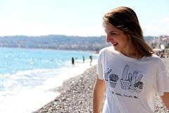 any youth, Bea (mailuig) Tags: sea portrait holiday beach girl seaside laugh frieds girlhood youngphotographer brandyandmelville