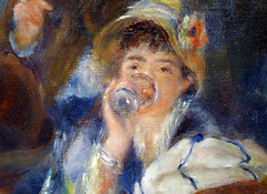 Renoir, Luncheon of the Boating Party, Ellen Andrée