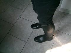 Slim Noir et Bottes Le Chameau Alezan (neoprene87000) Tags: horse men cheval boot slim boots rubber riding le botte homme bottes chameau equitation quitation caoutchouc alezan