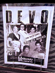 Devo, San Francisco, CA (Robby Virus) Tags: show sanfrancisco california new music beach gardens poster concert flyer north broadway wave devo weare arewenotmen mabuhay