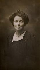 Mary Gawthorpe, 1908.