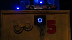 Corgi Toys Buick (Century) Regal Police Car No. 416 Converted Into A Futuristic Sci-Fi Hover Car : Diorama A Hover Police Car City Scene - 17 Of 98 (Kelvin64) Tags: city car century toys buick corgi no police scene scifi converted futuristic regal diorama hover 416 a into