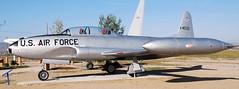 Lockheed T-33A 51-4533 (707-348C) Tags: california museum lockheed usaf palmdale trainer pmd usairforce tbird shootingstar lockheedt33 t33a kpmd 514533