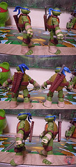 "Nickelodeon ""HISTORY OF TEENAGE MUTANT NINJA TURTLES"" FEATURING LEONARDO -  Nick  LEONARDO iv / ..with Nick Leo '12 (( 2015 )) (tOkKa) Tags: 2005 toys comic 1988 2006 1993 1992 leonardo figures toysrus 2012 2007 teenagemutantninjaturtles tmnt nickelodeon 2014 2015 displaystand playmatestoys ninjaturtlesthenextmutation toysrusexclusive tmntfastforward toontmnt tmntmovie4 turtlemilkstudios eastmanandlairdsteenagemutantninjaturtles moviestartmnt varnerstudios toonleo paramountteenagemutantninjaturtles 4kidstmnt paramountsteenagemutantninjaturtles tmnt2003 historyofteenagemutantninjaturtlesfeaturingleonardo davearshawsky tmnt2014movie"