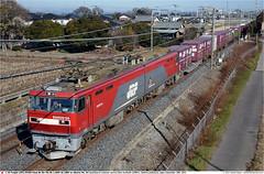JRF_EH500-54GB_Kurihashi_191214 (Catcliffe Demon) Tags: japan container railways jrf intermodal electriclocomotive eh500 jrfreight saitamaprefecture ecopower dualvoltage jr containertrains 1500v 20kv japanrailimages2014