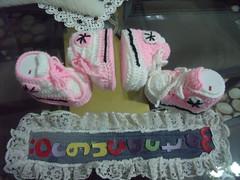 DURU'nun conversleri (6) (rgantam) Tags: babybooties rg bebekpatii bebekrgleri knittingconvers rgconvers bebekpatikleri durununcicileri elemeihandmade