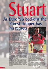 Nottingham Forest - The Magazine - Issue 2 - 1996 - Page 14 (The Sky Strikers) Tags: city nottingham trees 2 get forest magazine euro injury ground stuart well le graeme column issue pearce soon tricky 96 the beckons regrets blether saux