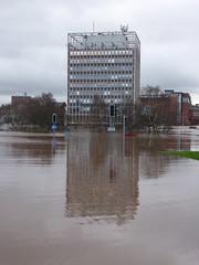 The Carlisle Floods 2015 (ambo333) Tags: carlisle cumbria england uk flood floods carlisleflood carlislefloods cumbriaflood cumbriafloods cumbriaflooding carlislecitycouncil flooding eden rivereden carlislecumbria cumbriacrack carlisleciviccentre hardwickecircus desmond storm stormdesmond weather rain rainfall englandflooding ukflooding floods2015 carlisleflooding