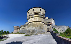 DSC_2217-2222 San Leo (Rimini), la Fortezza (Giovanni Pilone) Tags: rimini mura castello marche rocca bastione forte emiliaromagna fortezza sanleo