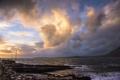 Elgol Sunset. Isle of Skye (Digit@l Exposure) Tags: sunset sea mountains skye scotland highlands isle isles wester elgol