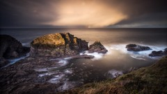 The Shortest Day (Augmented Reality Images (Getty Contributor)) Tags: canon cliffs clouds coastline landscape leefilters longexposure morayshire portknockie rocks scotland seascape sunset water waves