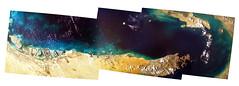 Dubai (keithpk) Tags: earthkam space iss satellite arial dubai uae toprint
