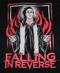 Falling in Reverse Tour Graphic Tee Shirt (itstayedinvegas-4) Tags: nevada graphicteeshirt fallinginreverse lasvegas
